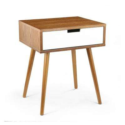 Sylvester Side Table in Walnut