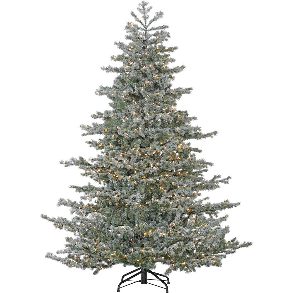Oregon Christmas Trees.Fraser Hill Farm 9 Ft Oregon Fir Artificial Christmas Tree With Hled String Lighting