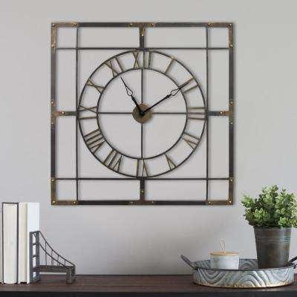 Stratton Home Decor - Wall Clocks - Wall Decor - The Home Depot