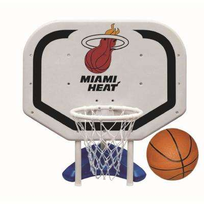 Miami Heat NBA Pro Rebounder Swimming Pool Basketball Game