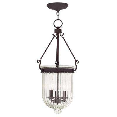 Coventry 3-Light Bronze Pendant