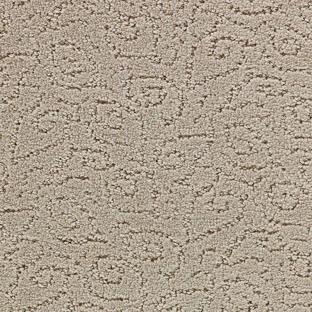 Carpet Sample - EdenbRidge - In Color Foxy 8 in. x 8 in.