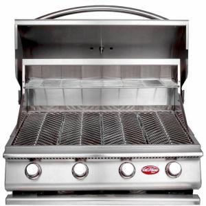 Click here to buy Cal Flame Gourmet Series 4-Burner Built-In Stainless Steel Propane Gas Grill by Cal Flame.