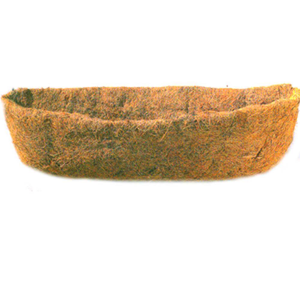Vigoro 24 in. Horse-Trough Replacement Coco Liner