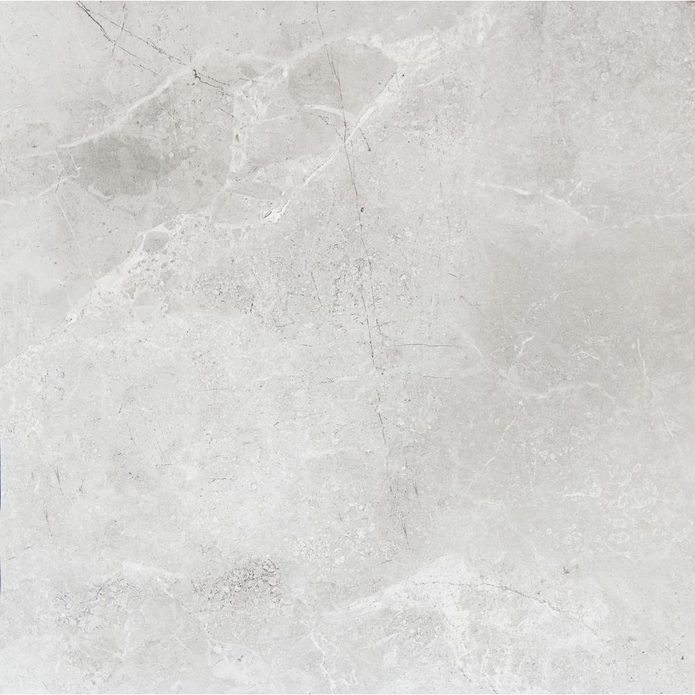 White X Tile Flooring The Home Depot - 13x13 white ceramic floor tile