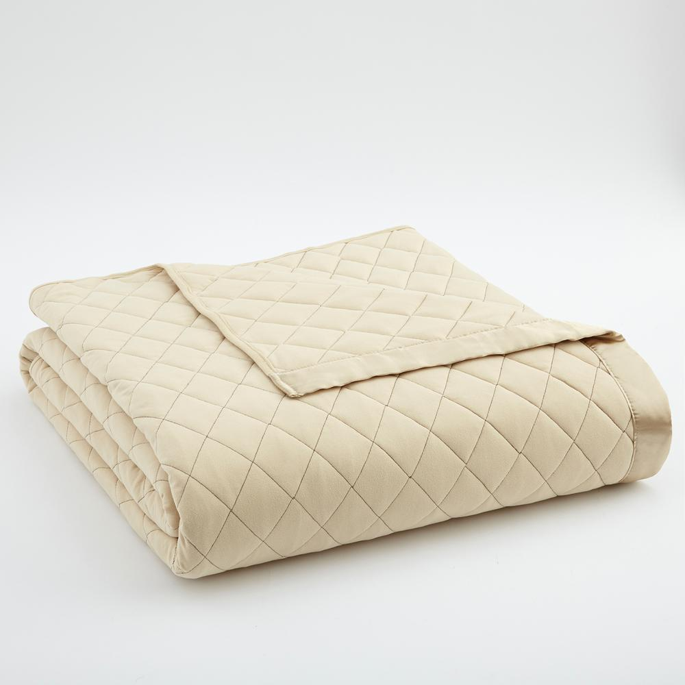 King Chino Quilted Polyester Blanket