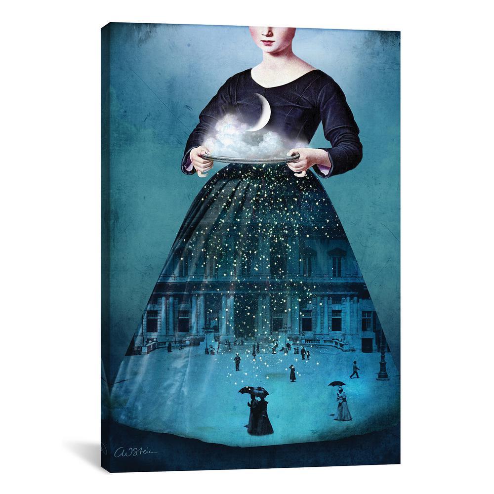 """Frau Holle"" by Catrin Welz-Stein Canvas Wall Art"
