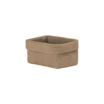 Mod Crochet Rectangular Polypropylene Basket