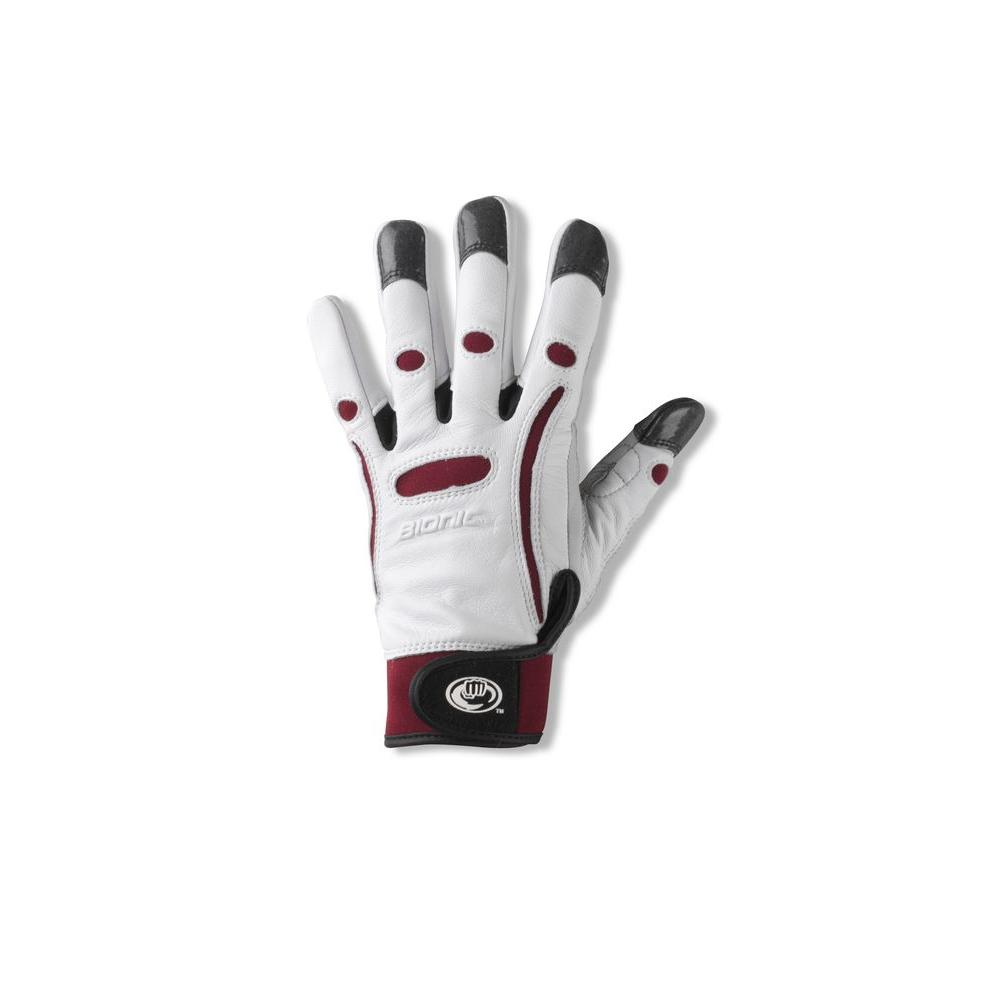 Bionic Glove Gardening Gloves Women's Elite Maroon Size Large-DISCONTINUED