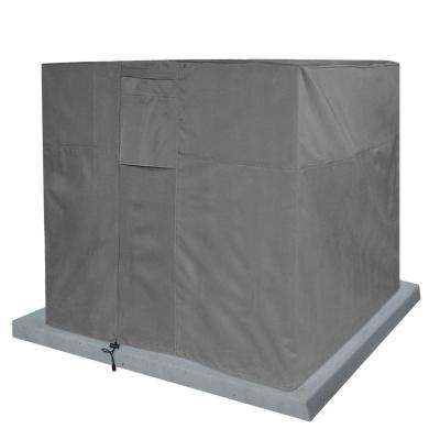 Grey Air Condition Heavy-Duty Weatherproof Protector Cover