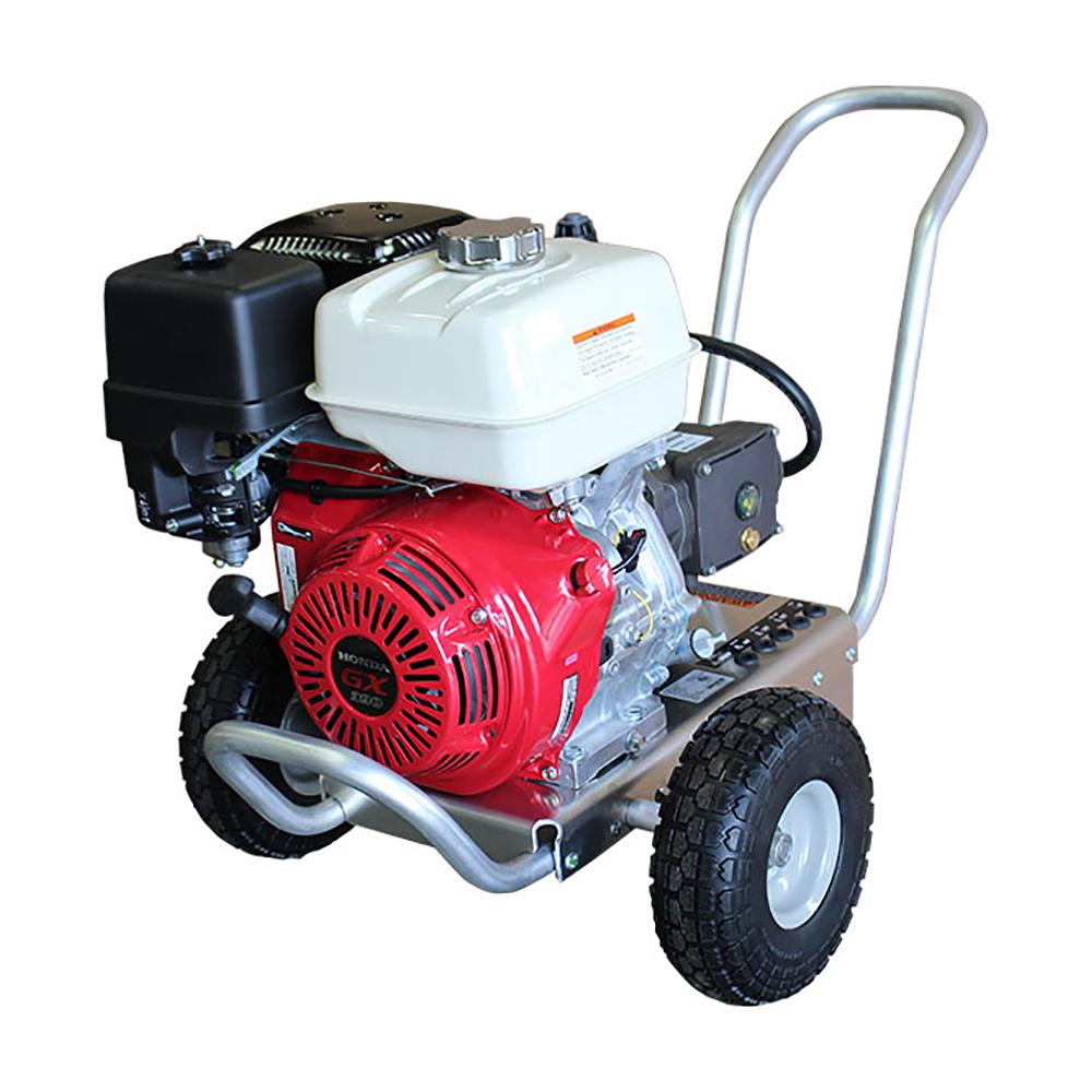 Shark 4100 Psi 4.0 GPM Gas Pressure Washer Powered By Honda GX390