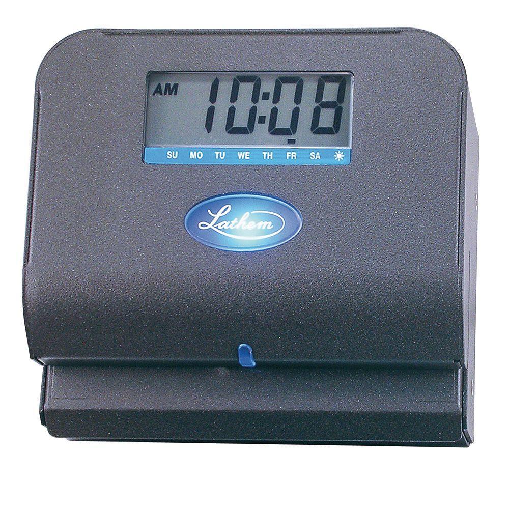 Lathem Time Direct Thermal-Print Time Clock