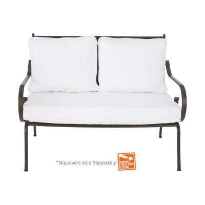 Middletown Patio Loveseat with Cushion Insert (Slipcovers Sold Separately)