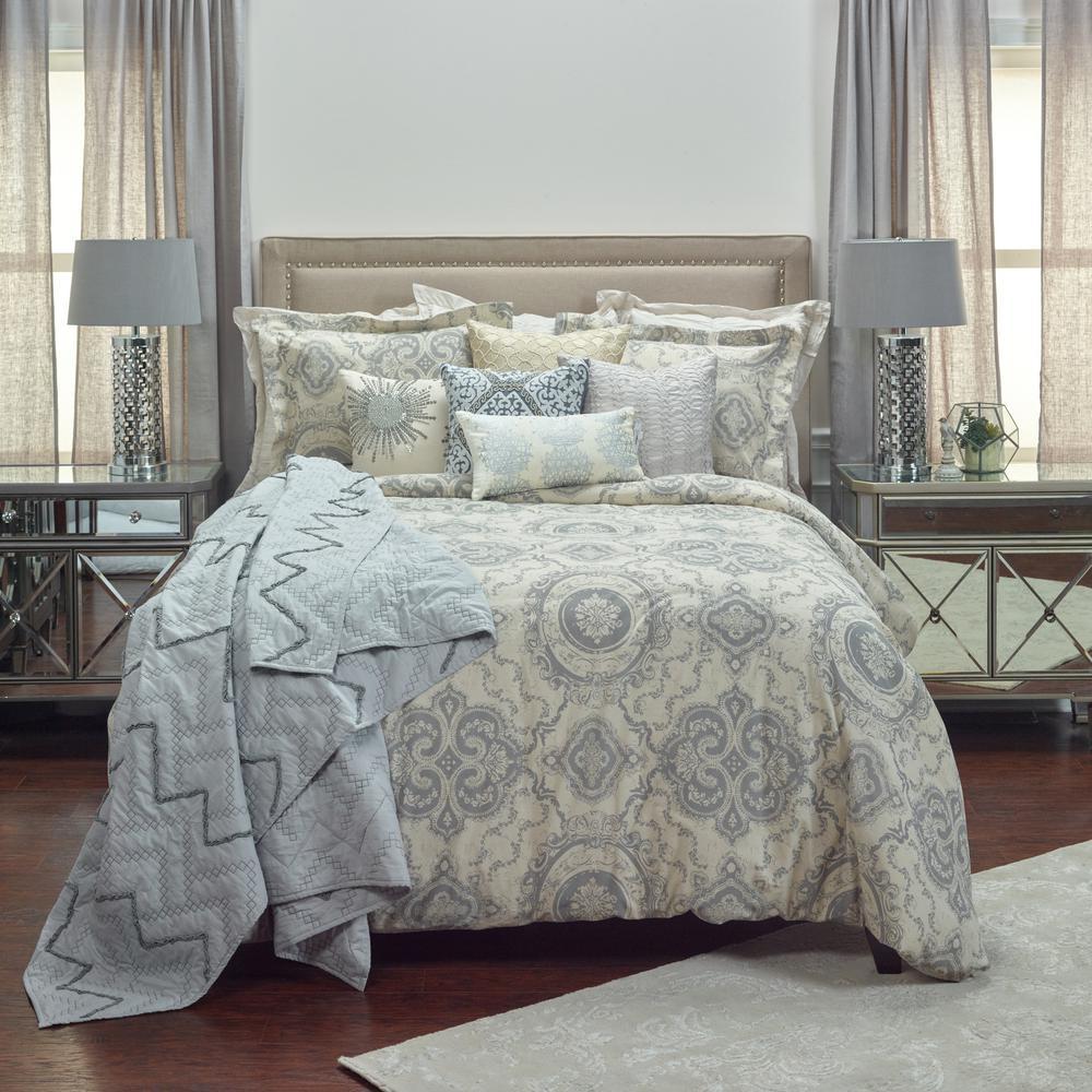 3-Piece Khaki Queen Comforter Set