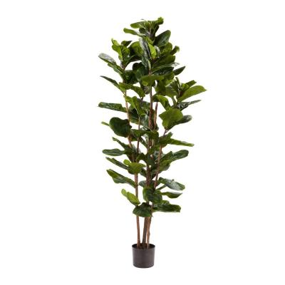 72 in. Artificial Fiddle Leaf Fig Tree