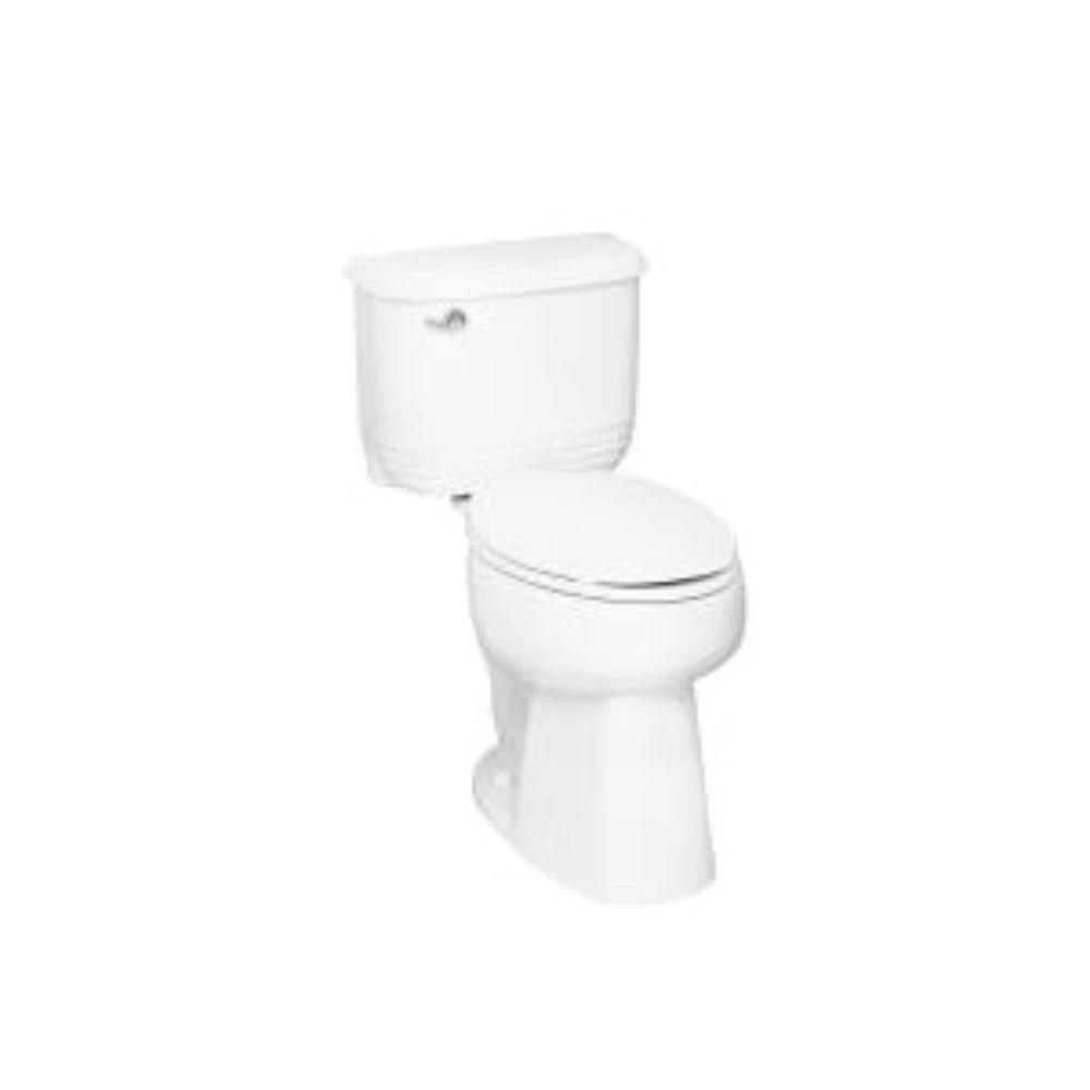 STERLING Riverton 2-Piece High-Efficiency Elongated Toilet in Almond