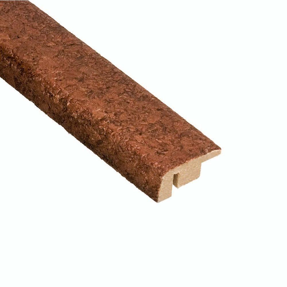 874f6059d493 Mocha 3 8 in. Thick x 1-3 8 in. Wide x 47 in. Length Cork Carpet Reducer  Molding