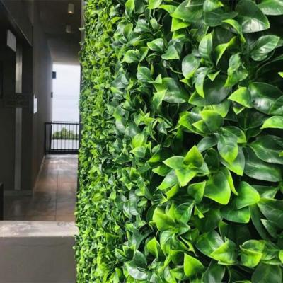20 in. H x 20 in. W GorgeousHome Artificial Boxwood Hedge Greenery Panels (JasmineLeaf_12-pc)