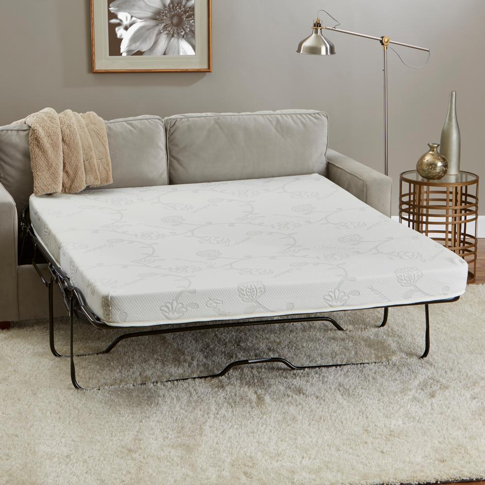 Replacement Sleeper Sofa 4.5 in. Mattress - 72 in. L x 52...