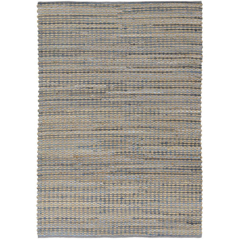 Easton Blue/Tan/Grey 5 ft. x 7 ft. 6 in. Indoor Area Rug