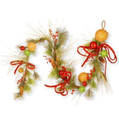 6 ft. Ornament Garland