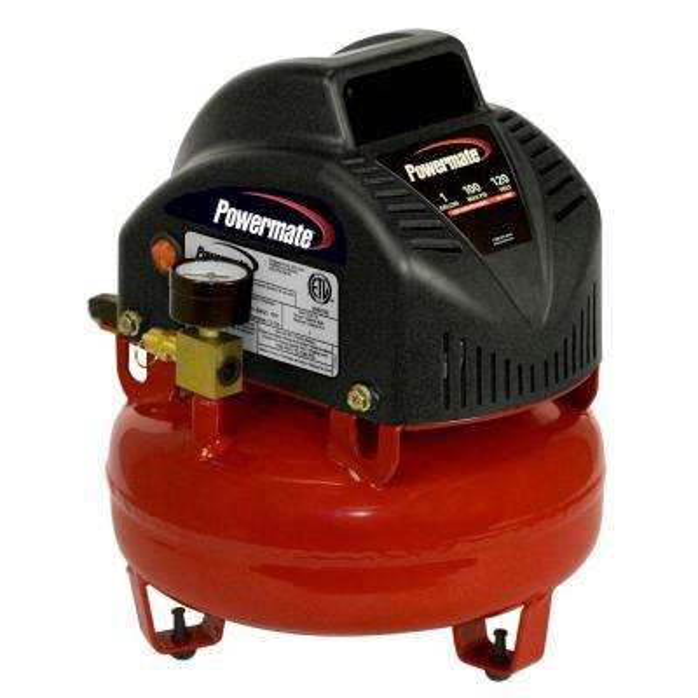 powermate air pressors air pressors tools accessories  1 gal portable electric air pressor