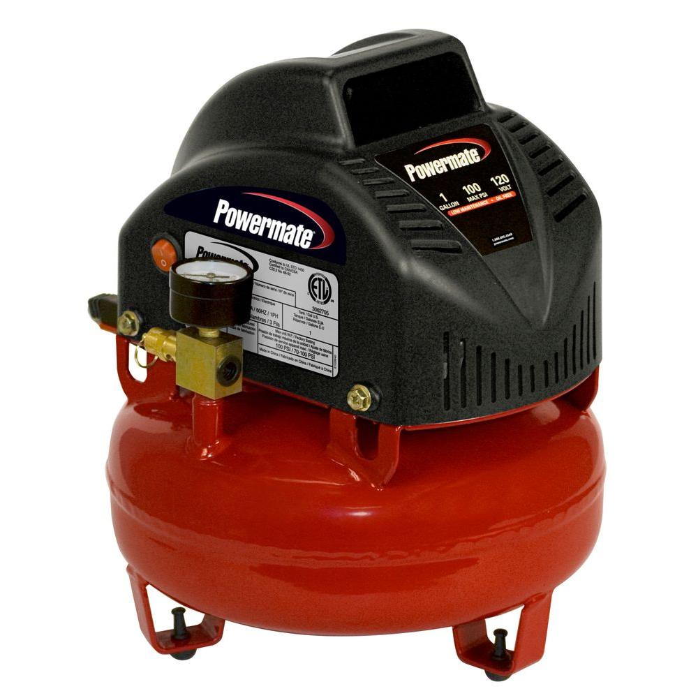 Powermate 1 Gal. Portable Electric Air Compressor
