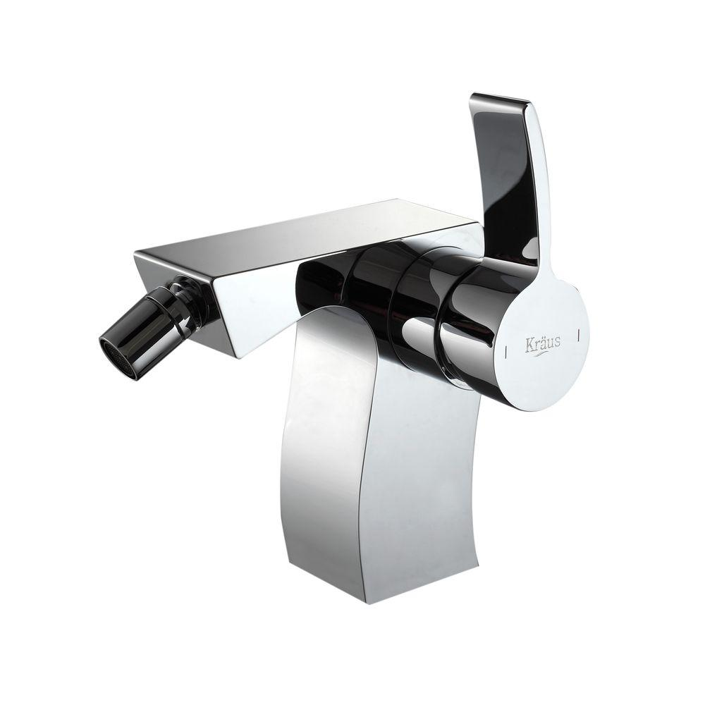 KRAUS Sonus 1-Handle Bidet Faucet in Chrome