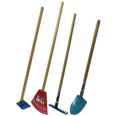 Little Diggers Series Kid Safe Poly Garden Tool Kit (4-Piece)