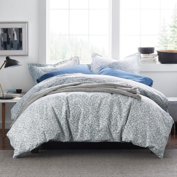 Ryder Geo Cotton Percale King Duvet Cover