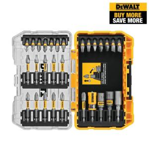 Deals on Dewalt MAXFIT Screwdriving Set with Sleeve (30-Piece)