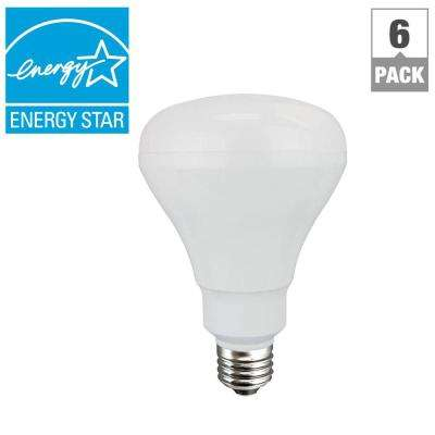 65W Equivalent Day Light BR30 Non-Dimmable LED Flood Light Bulb (6-Pack)