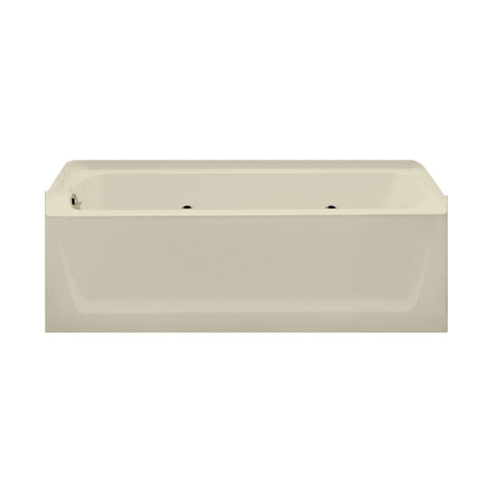 STERLING Ensemble 5 ft. Whirlpool Tub in Almond-DISCONTINUED