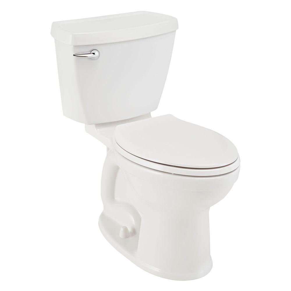 American Standard Champion 4 2-Piece 1.28 GPF Single Flush Elongated Toilet in White, Seat Included