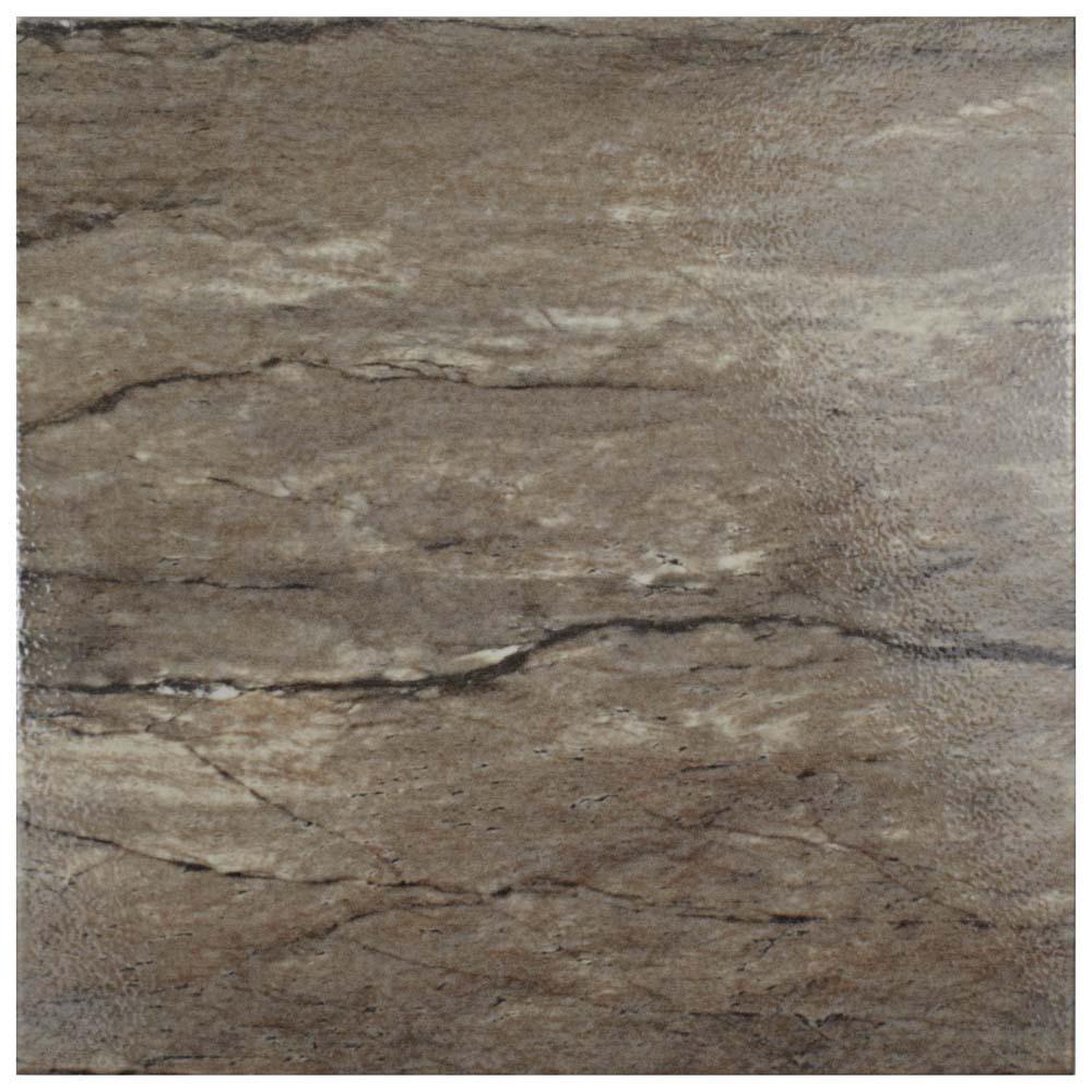 Ferraras Noce 12-1/2 in. x 12-1/2 in. Ceramic Floor and Wall Tile (11.3 sq. ft. / case)