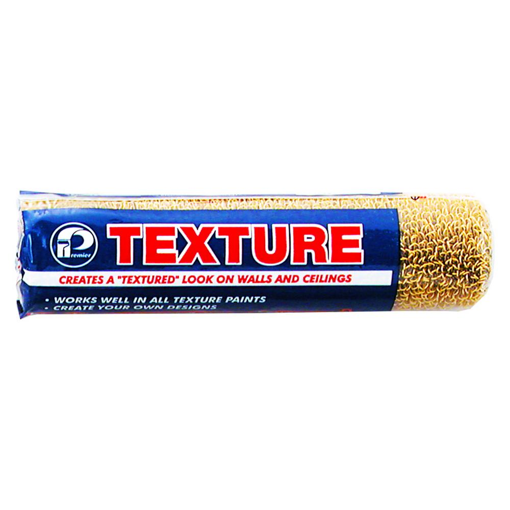 Premier 9 in Plastic Looped Texture Roller Cover 12 Pack H9 RXN