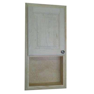 Napa Valley 31.5 in. H x 15.5 in. W x 3.5 in. D Recessed Medicine Cabinet