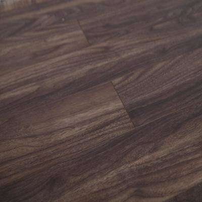 American Walnut 12 mm Thick x 4.96 in. Wide x 48 in. Length Click-Locking Laminate Flooring Planks (16.48 sq. ft. /case)