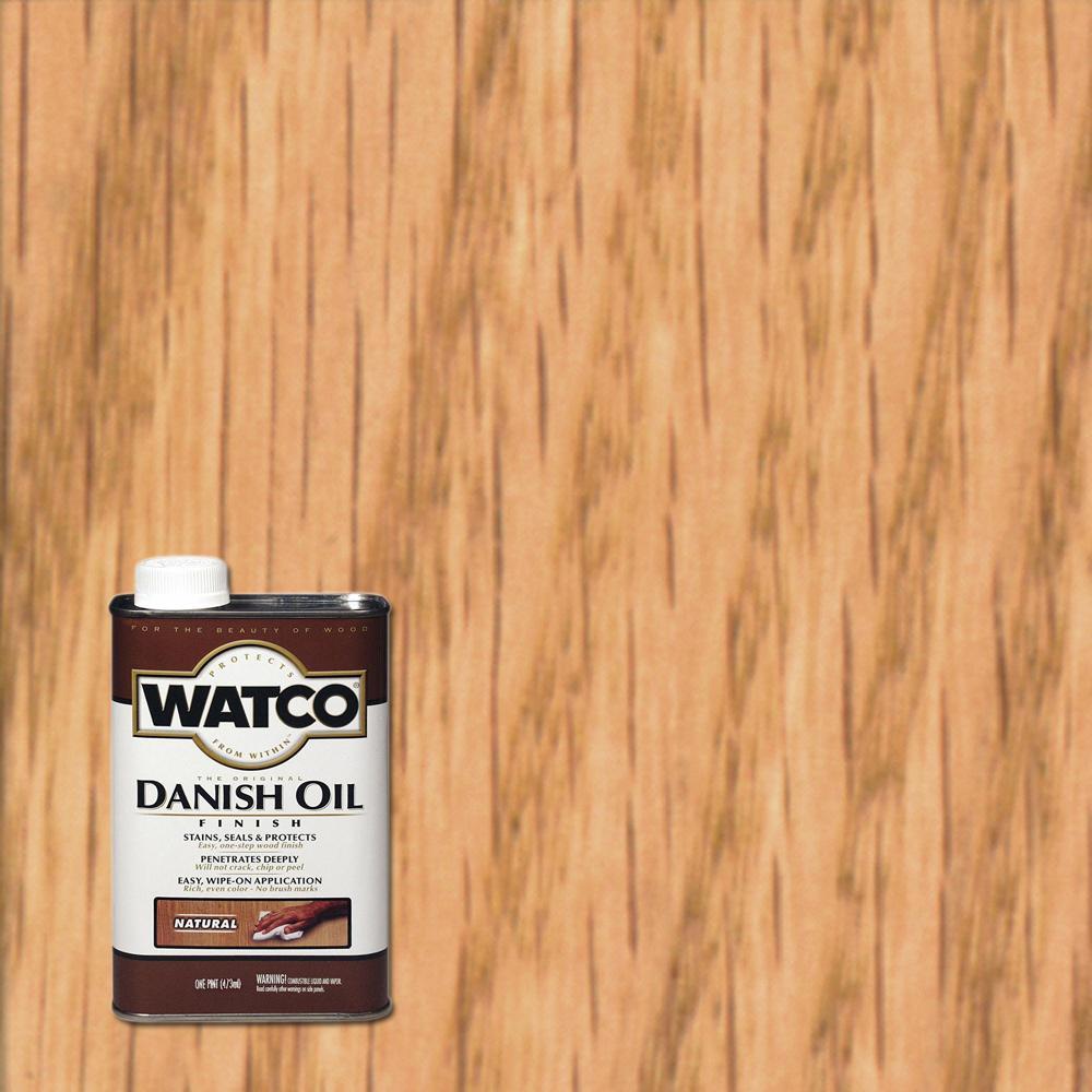 Watco 1 pt. Natural Danish Oil (4-Pack)