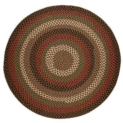 8 Round Polypropylene Braided Outdoor Rugs Rugs The Home