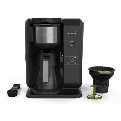 6.25-Cup Hot and Cold Brew Programmable Black Drip Coffee Maker