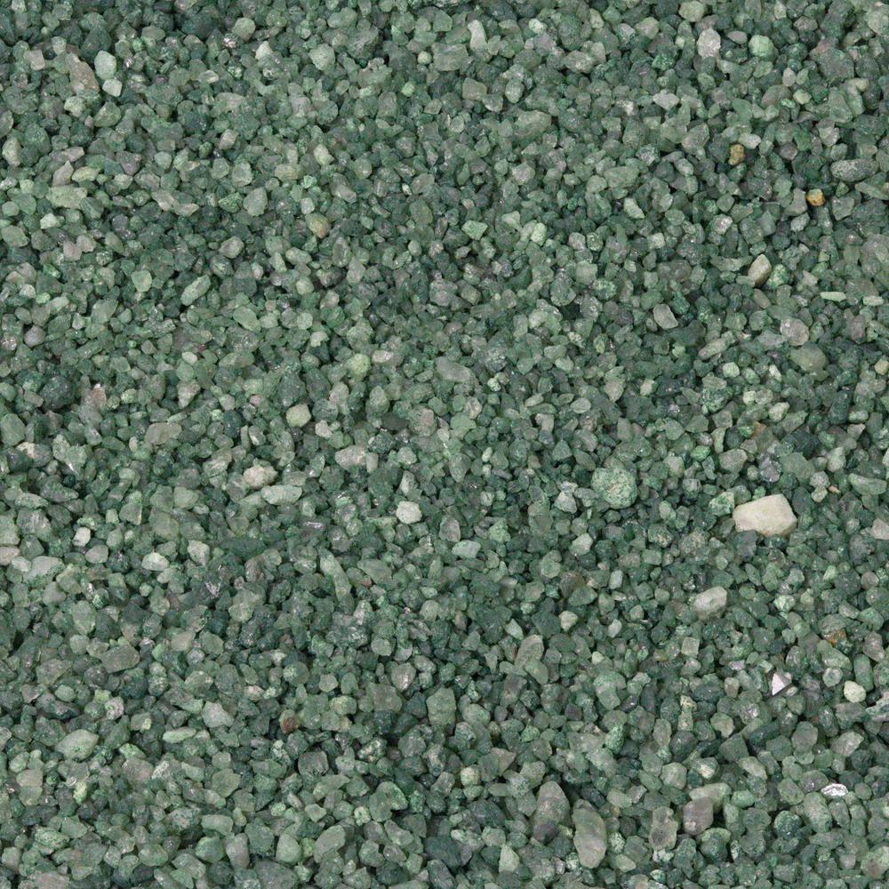 Green Artificial Grass Infill 25 lbs. Bucket
