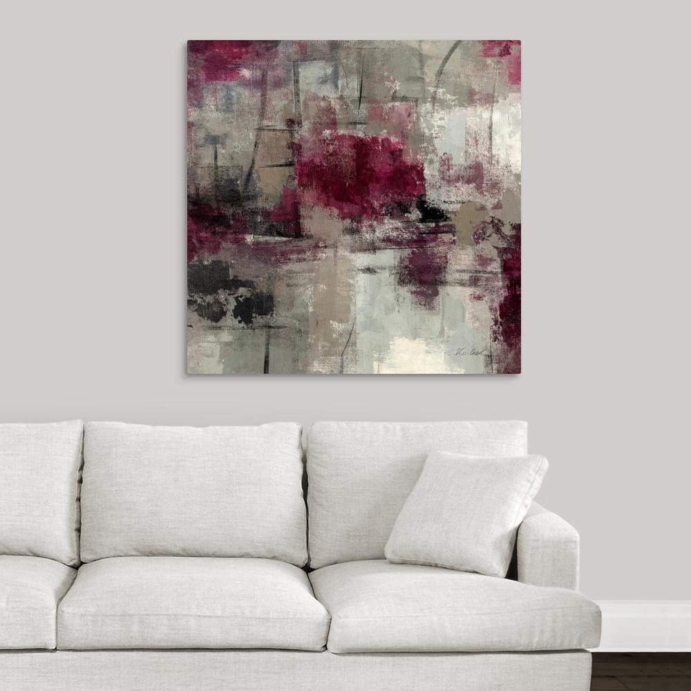 """""""Stone Gardens III"""" by Silvia Vassileva Canvas Wall Art"""