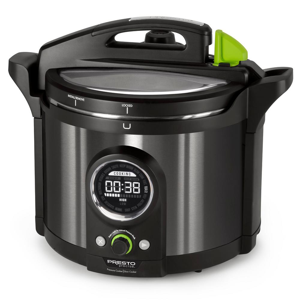 10 Qt. Black Stainless Electric Pressure Cooker