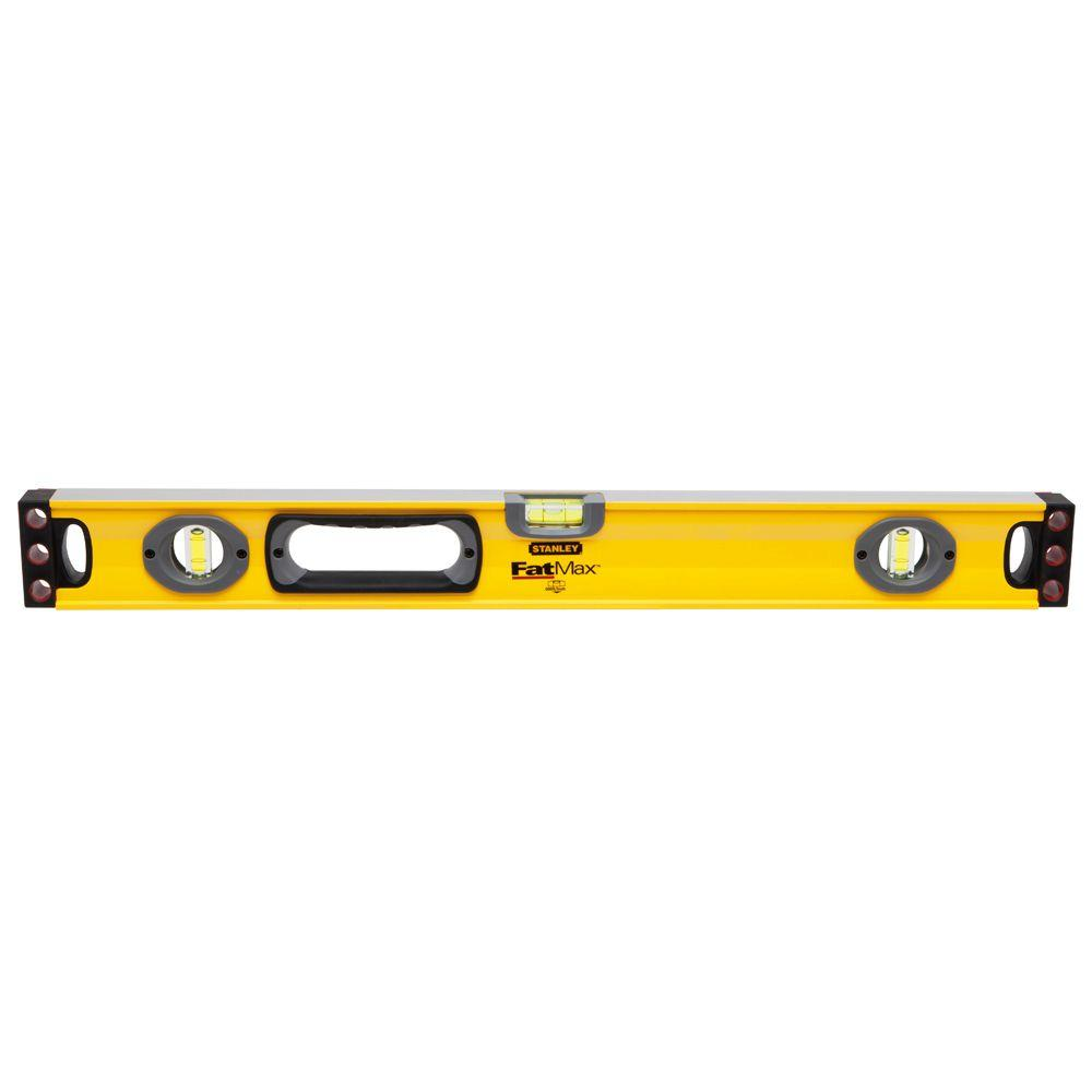 Stanley FatMax 24 in. Non-Magnetic Aluminum Box Level