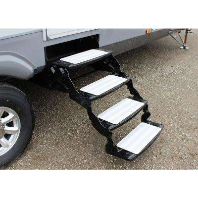 Treadway White Sand 18 in. x 8 in. Self-Adhesive Non-Slip Stair Tread