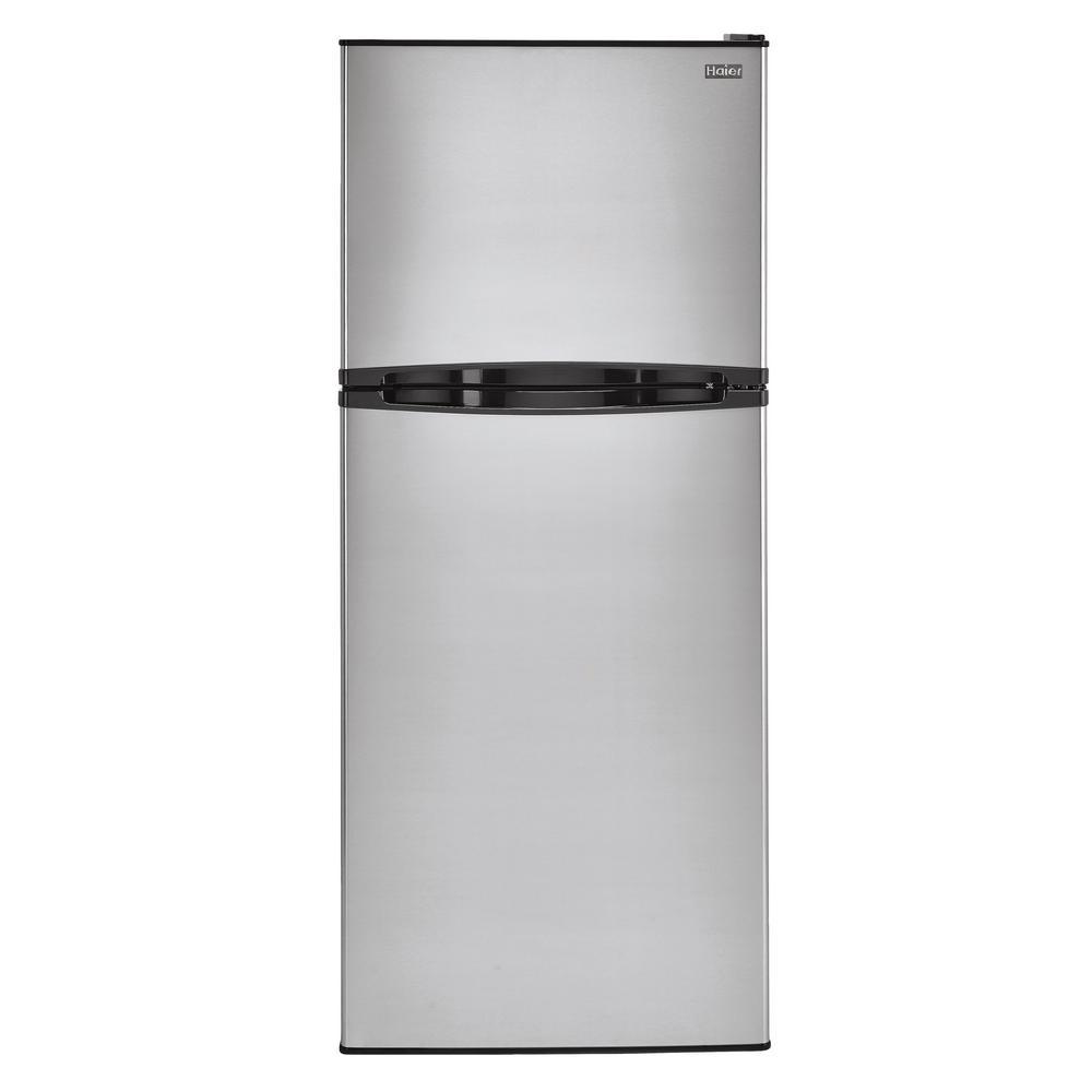 11.5 cu. ft. Top Freezer Refrigerator in Stainless Steel