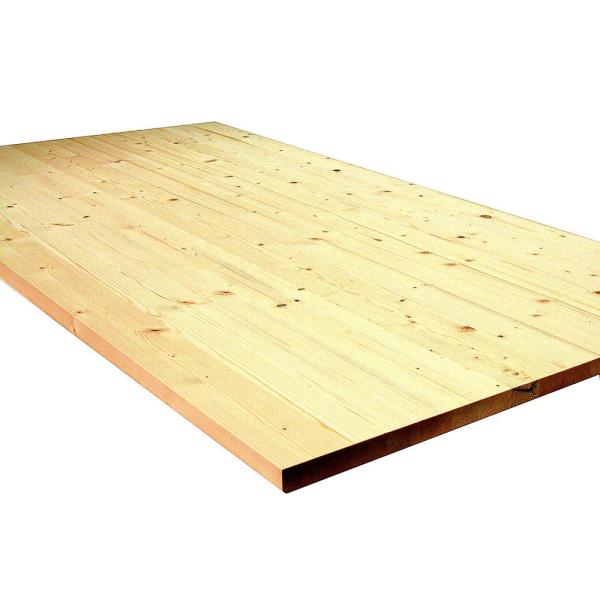 Allwood 1 in. x 30 in. x 2-1/2 ft. Pine Project Panel