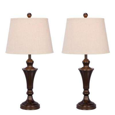 Hardwired table lamps lamps the home depot two greentooth Images