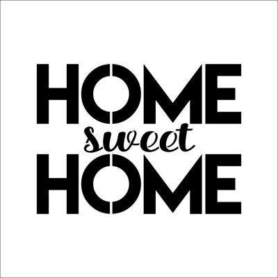 """""""HOME Sweet HOME"""" Sign Stencil"""